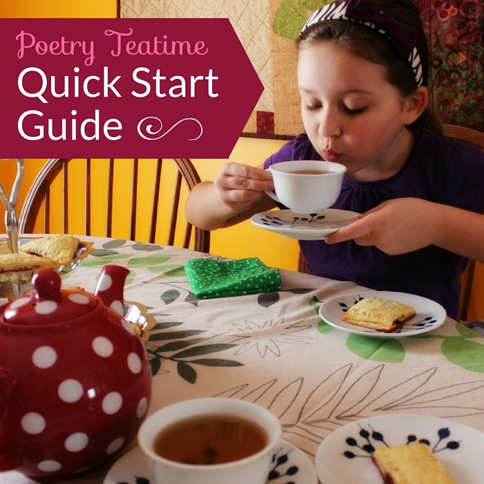 Poetry Teatime Quick Start Guide